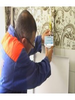 Установка сигнализатора загазованности в квартире