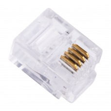 Разъем TP-6P4C (вилка телефонная)